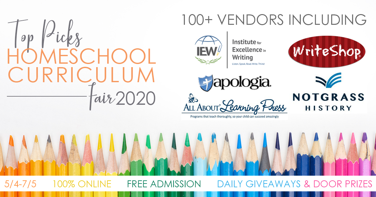 Top Picks Homeschool Curriculum Fair 2020