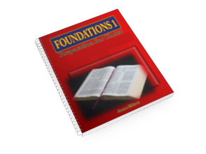 Foundations of Bible Year 1