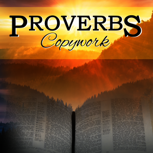 Proverbs Copywork by Katherine Hirn | Foundations Press