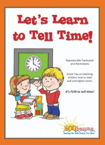 Let's Learn to Tell Time Preschool Curriculum | Sonbeams at Foundations Press