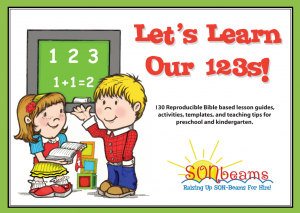 Let's Learn Our 123s Preschool Curriculum | Sonbeams at Foundations Press