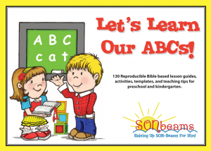 Let's Learn Our ABCs Preschool Curriculum | Sonbeams at Foundations Press