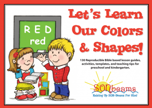 Let's Learn Our Colors & Shapes Preschool Curriculum | Sonbeams at Foundations Press