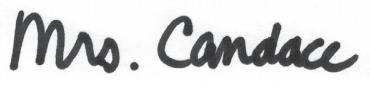 Mrs. Candace