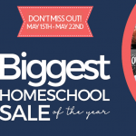 Don't miss the biggest homeschool sale of the year!