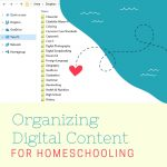 How to Organize Digital Content in Your Homeschool